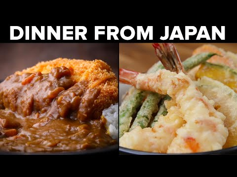 4 Dinners From Tasty Japan