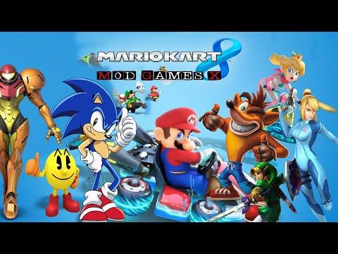 Mario Kart Wii U Mod Pack Characters