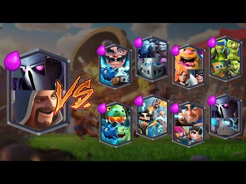 PEKKA + WIZARD VS ALL TEAMS & CLASH ROYALE TEAM CHALLENGE