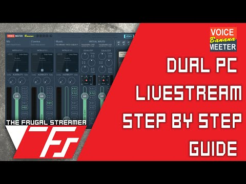 Streamlabs OBS: NDI 3 5 Dual PC Stream Guide - The Frugal