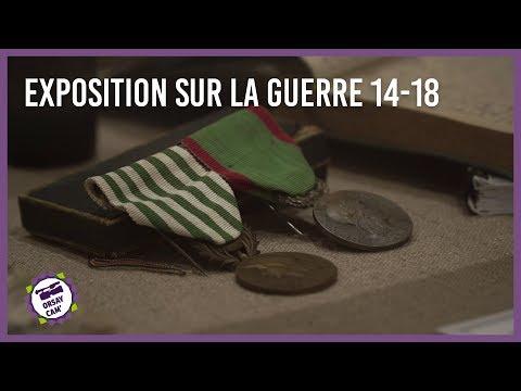 Exposition sur la guerre 14-18 à Orsay