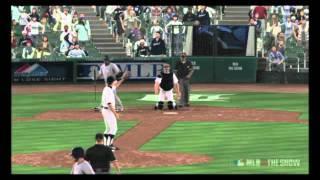 MLB 11 The Show - Denny McLain Strikeout Reel (13 Ks)