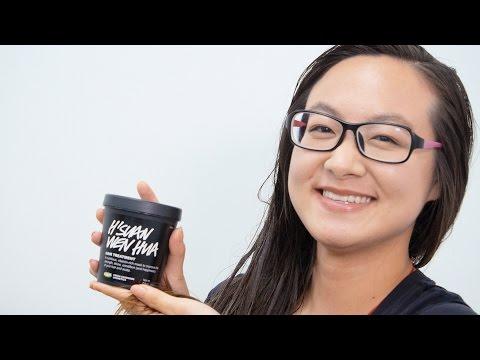 Di Salerno Wheat Hair Mask application