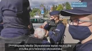 MÓJ SUBSKRYBOWANY KANAŁ – Na Krakowskim Przedmieściu policja cichaczem chce porwać baner.Akcja Policji