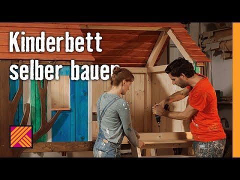 Kinderbett selber bauen   HORNBACH Möbelbau