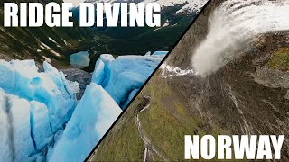 Ridge Diving/Mountain Surfing 7 Inch FPV Quad (NORWAY)