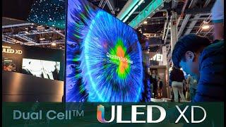 Ist der DUAL CELL ULED XD TV von HISENSE die Antwort auf OLED? (CES 2020)