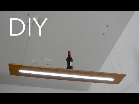 DIY Designer Lampe Anleitung zum selber bauen