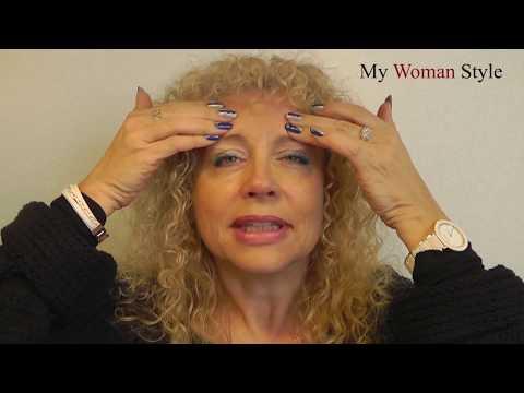 Die Gesichtshaut ohne botoksa festzuziehen