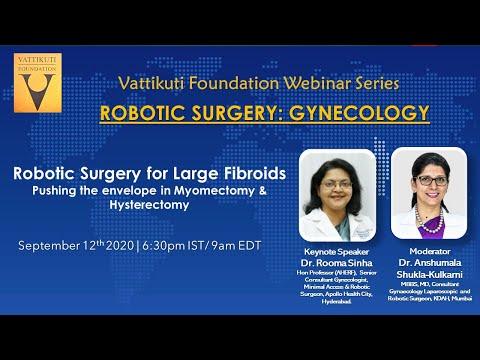 Robotic Surgery for Large Fibroids