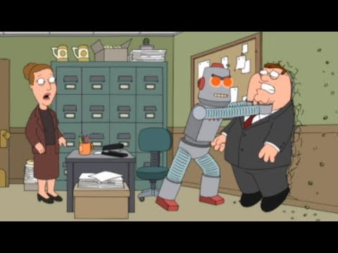 Family Guy - Peter's Robot Turned on Him