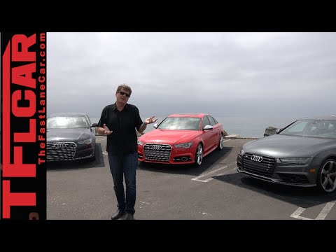 2016 Audi A6 S6 & S7 Sneak Peek at the new AWD Iron from Ingolstadt
