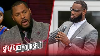 Eddie House on LeBron's priorities in LA, a potential Melo signing in HOU | NBA | SPEAK FOR YOURSELF
