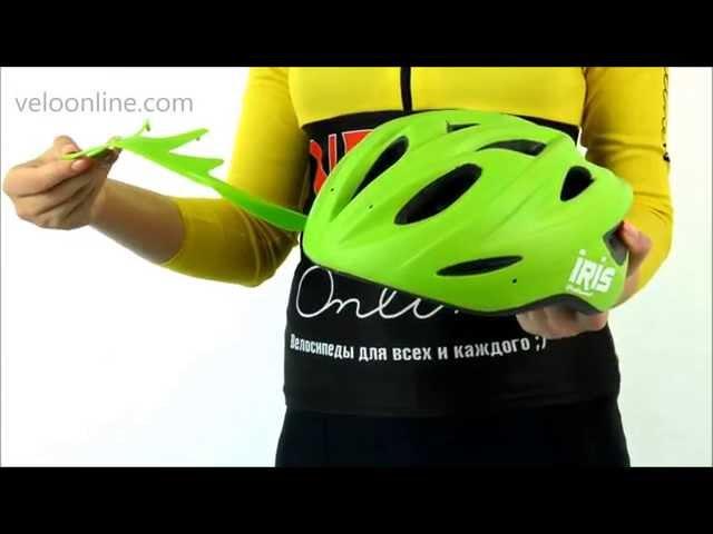 Видео Велосипедный шлем Polisport IRIS white