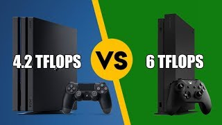 PS4 Pro vs Xbox One X - Peak Compute Isn't A Great Way To Compare GPU Performance