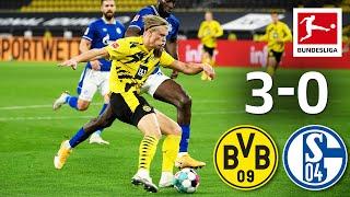 Haaland Scored Again in Derby Win | Borussia Dortmund - FC Schalke 04 | 3-0| Highlights | Matchday 5