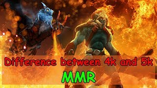 The difference between a 4K MMR and 5K MMR players