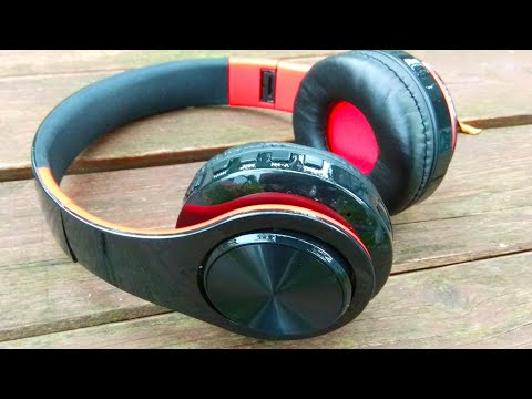 Складные блютуз наушники / Foldable bluetooth headphones