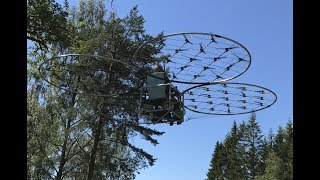 chAIR -Manned quadcopter Episode 26 -Holiday flight Axel Borg