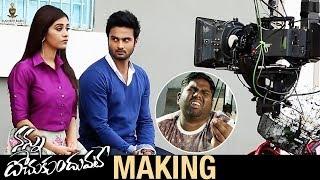 Nannu Dochukunduvate Movie Making   Sudheer Babu   Nabha Natesh   Sudheer Babu Productions