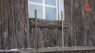 Традиції: як у селі на Хмельниччині утеплюють хати... очеретом