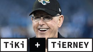 Tom Coughlin Got In The Way Of The Jaguars' Vision | Tiki + Tierney