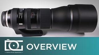 Tamron SP 150-600mm f/5-6.3 Di VC USD G2 Telephoto Zoom Lens | Unboxing Video