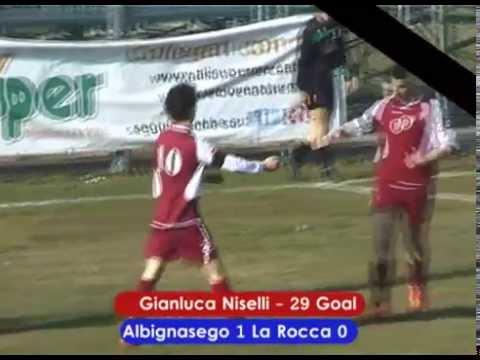 Preview video ALBIGNASEGO CALCIO-LA ROCCA MONSELICE 1-2 (JUNIORES REG. 28/02/2015)