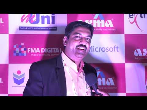 Dr Narasima Venkatesh - Social Media & MOOC Will Transform Indian Education