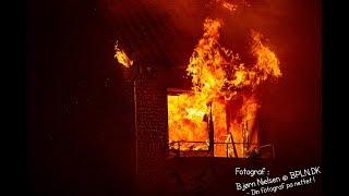 04.10.2019 – Voldsom brand i lejlighed