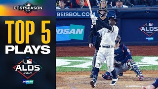 Didi Gregorius, Gleyber Torres, DJ LeMahieu and more! | Top Moments of the Yankees-Twins ALDS