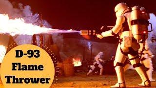 The First Order Flamethrower - D-93 Incinerator Flamethrower - Star Wars Battlefront Weapon Lore