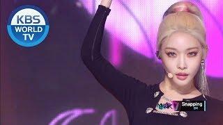 청하 (CHUNG HA)   Snapping [Music Bank  2019.06.28]