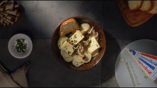 Zuppa di patate, funghi chiodini e Appenzeller® Video