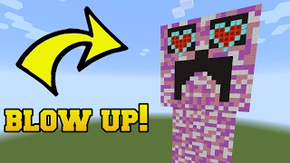 DOES THAT CREEPER HAVE HEART EYES?!? BLOW IT UP!!!