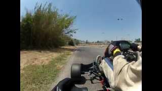 Adams motorsports CRG kart PRD Fireball first run