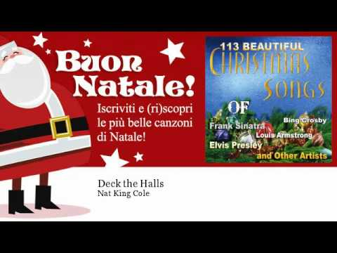 Deck the Halls performed by Nat King Cole
