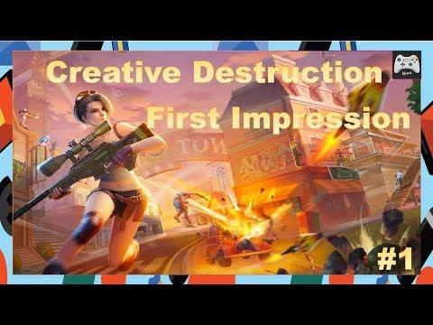 My First impression about Creative Destruction | Part 1 (PC)