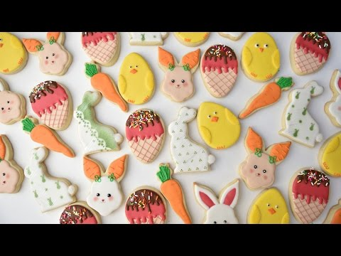 AMAZING EASTER COOKIES, HANIELA'S