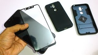 Nokia 8.1 - Screen Protector and Cases