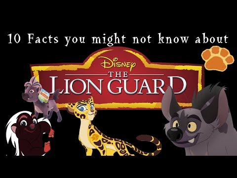 10 Rare Facts about The Lion Guard