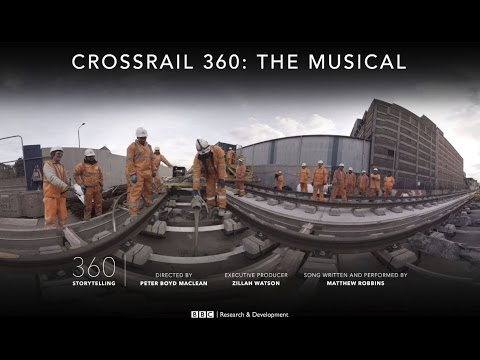 Crossrail 360: The Musical - BBC News