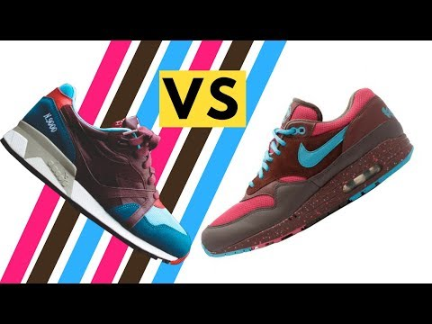 Air Max 1 Amsterdam vs Hanon Diadora N9000 Saturday Special