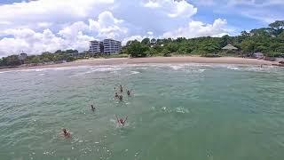 A smooth cruise + fpv freestyle in Laem Mae Phim Beach, Thailand