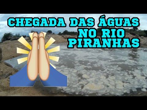 ÁGUAS CHEGANDO NO RIO PIRANHAS BARRA DE SANTANA MUNICIPIO DE JUCURUTU-RN!