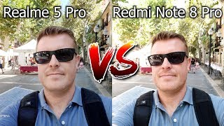 Xiaomi Redmi Note 8 Pro vs Realme 5 Pro Camera Comparison - Trading Blows!
