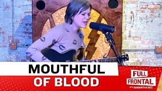 """Juliana Hatfield Performs """"Mouthful of Blood!"""""""