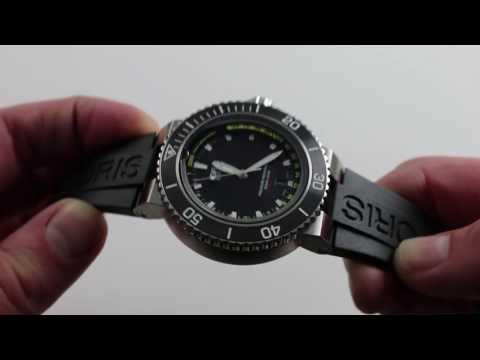 Oris Aquis Depth Gauge Luxury Watch Review