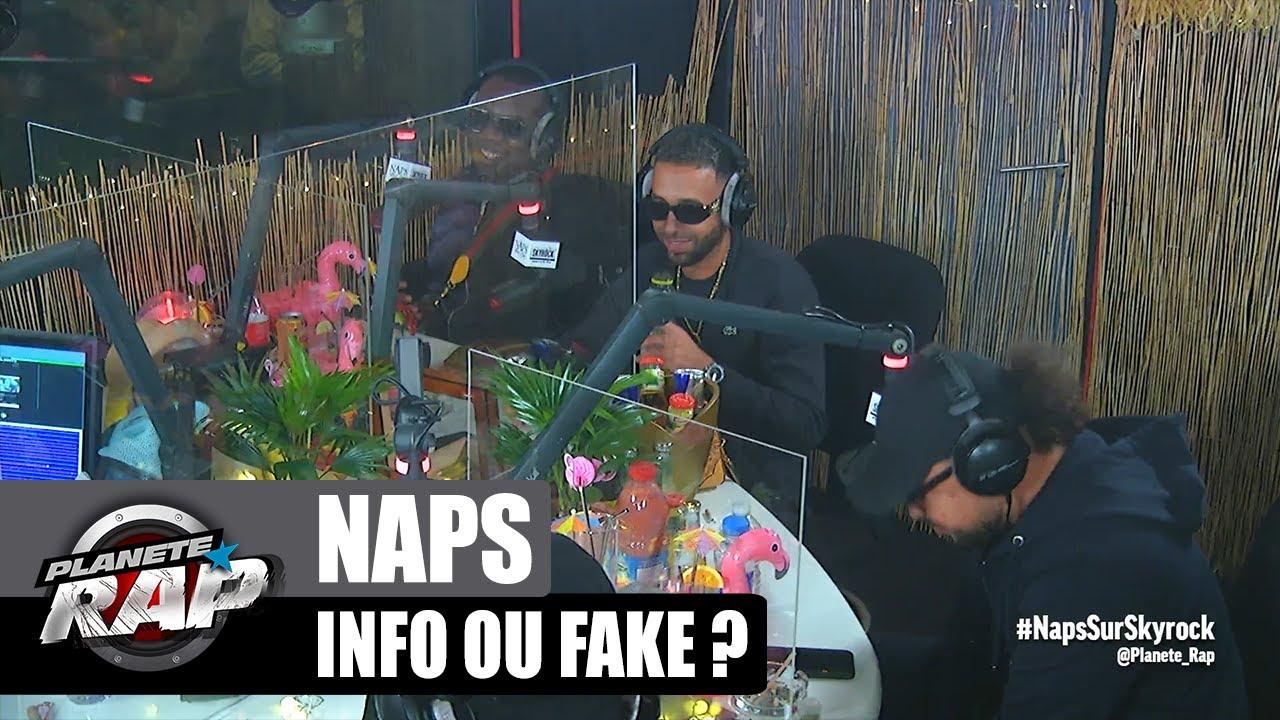 NAPS fait une GROSSE ERREUR en CONCERT : Info ou Fake ? avec Graya, Dika et Ivory ! #PlanèteRap