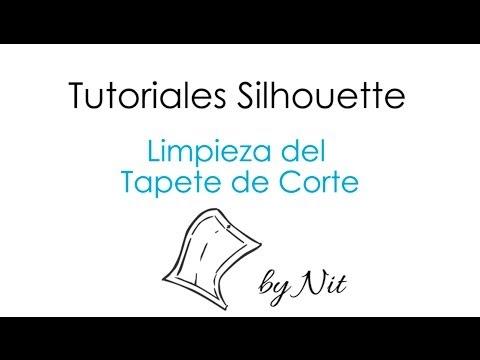 Limpieza del Tapete de Corte de Silhouette (Español)